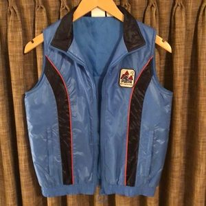 Vintage puma puffer vest